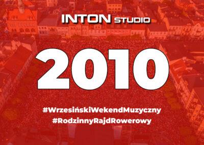 2010 Wrzesiński Weekend Muzyczny i Rajd Rowerowy