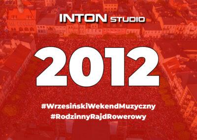 2012 Wrzesiński Weekend Muzyczny i Rajd Rowerowy