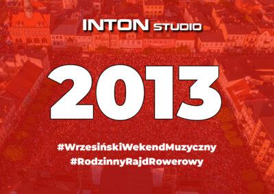 2013 Wrzesiński Weekend Muzyczny i Rajd Rowerowy