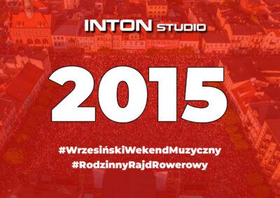 2015 Wrzesiński Weekend Muzyczny i Rajd Rowerowy